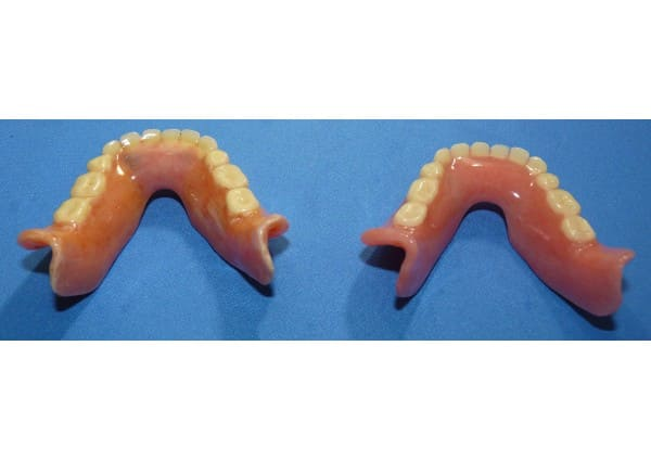 Duplicate lower denture