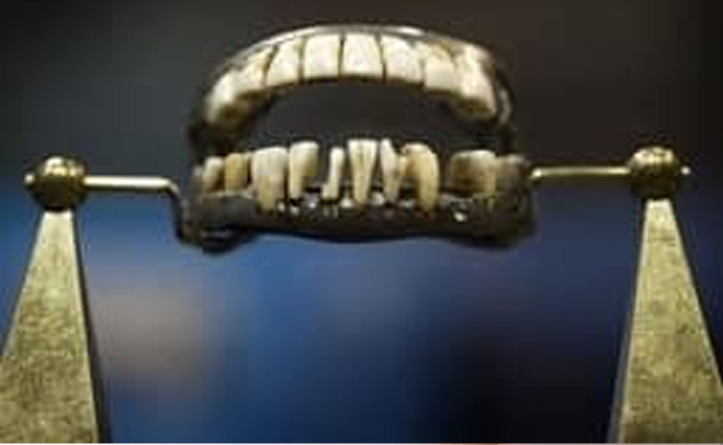 A Brief History of Dentures
